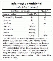 AMINOFOR BCAA (120CAPS) - VITAFOR-