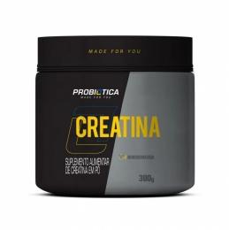 Creatina Pura 300 G - ProbióticaMonohidratada Micronizada Pura