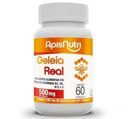 Geleia Real 500mg (60 caps)