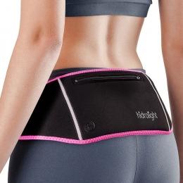 pochete triatlon preto/rosa