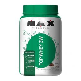 Top Whey 3w + Natural (900g)  cacau